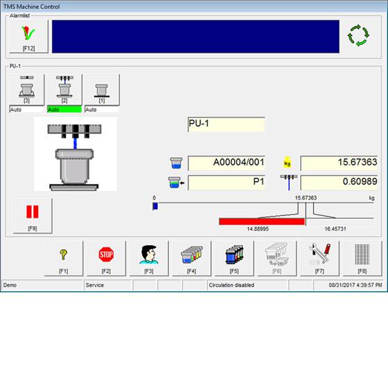 Textile management software