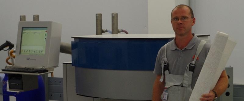 GSE Dispenser Installation at Arteks Russia