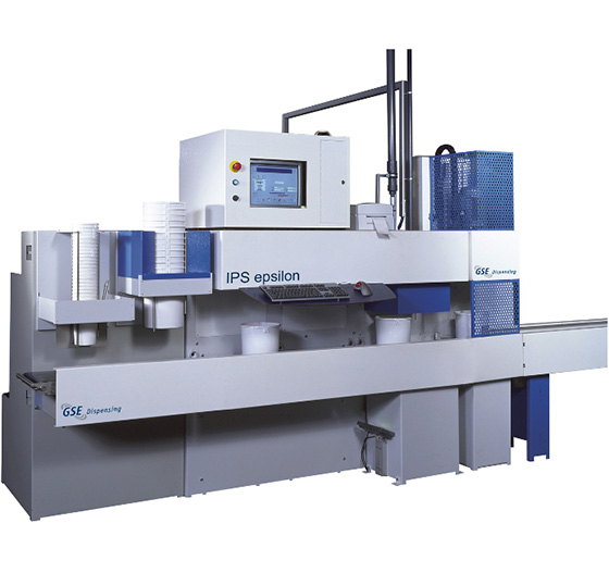 IPS epsilon. Ideaal voor de productie van veel samples.