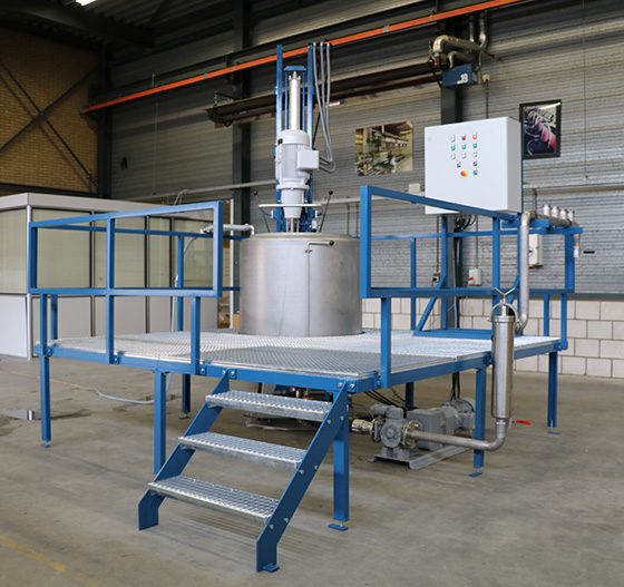 GSE's TPS thickening preparation system