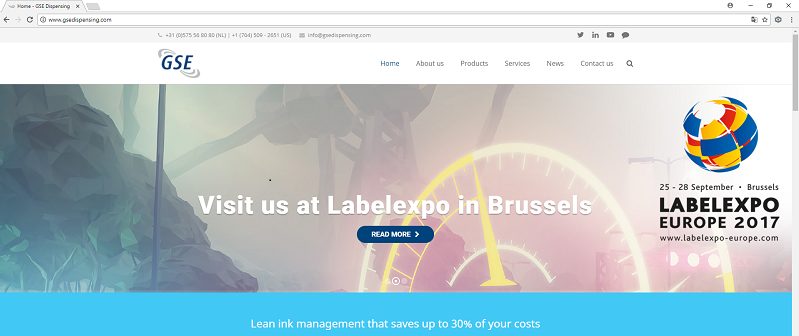 Visit us at LabelExpo in Brussels
