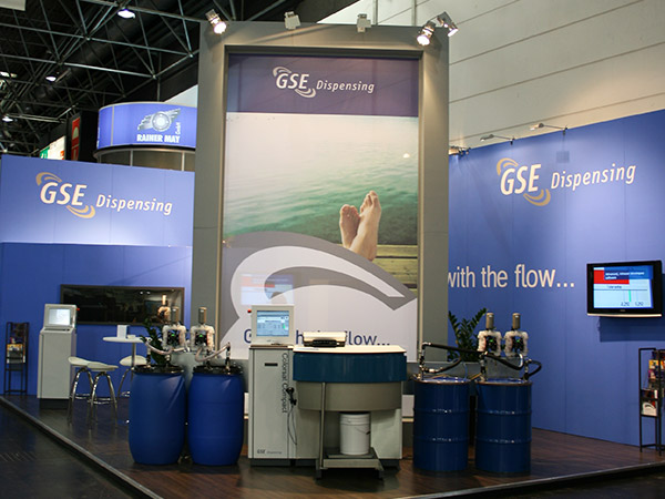 Stand op beurs GSE