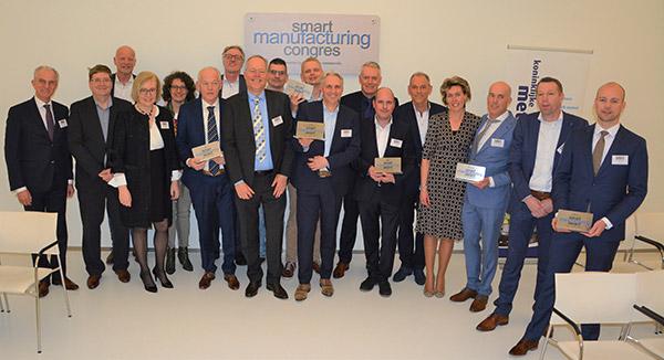 """Districtswinnaar van de """"Smart Manufacturing"""" award"""