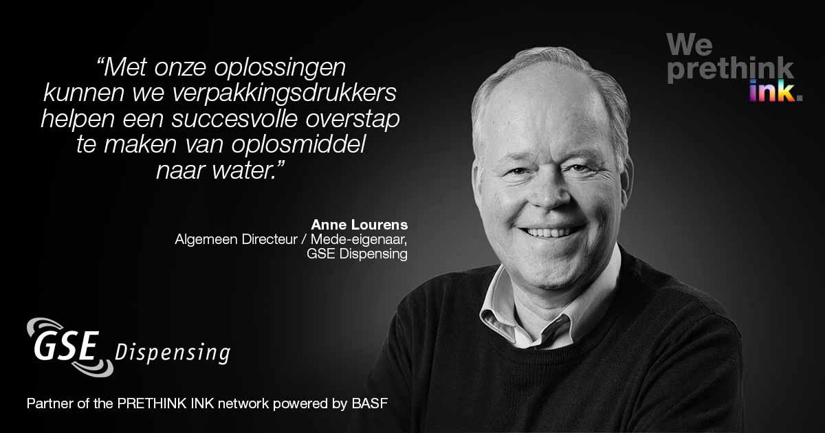 Anne Lourens, Algemeen Directeur / Mede-eigenaar, GSE Dispensing